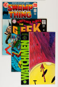 Bronze Age (1970-1979):Miscellaneous, DC Bronze to Modern Age Short Box Group (DC, 1970s-80s) Condition:Average FN....
