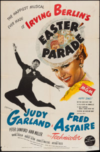 "Easter Parade (MGM, 1948). One Sheet (27"" X 41"") Style C. Musical"