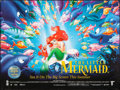 "Movie Posters:Animation, The Little Mermaid (Buena Vista, 1989). British Quad (30"" X 40"")DS. Animation.. ..."