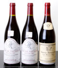 Red Burgundy, Clos Vougeot . 1996 D. Mugneret 1lbsl Bottle (2). VosneRomanee . 2005 Les Beaux Monts, L. Jadot Bottl... (Total: 4Btls. )