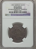 Colonials: , 1787 COPPER New Jersey Copper, Serpent Head -- Environmental Damage-- NGC Details. VF. NGC Census: (0/1). PCGS Population ...