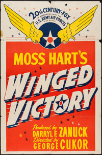 "Winged Victory (20th Century Fox, 1944). One Sheet (27"" X 41"") Style B, and Lobby Cards (4) (11"" X 14&quo..."