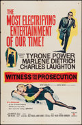 """Movie Posters:Mystery, Witness for the Prosecution (United Artists, 1958). One Sheet (27"""" X 41""""). Mystery.. ..."""