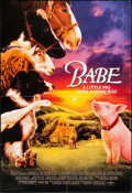 "Movie Posters:Adventure, Babe and Other Lot (Universal, 1995). One Sheets (2) (27"" X 40"") Regular and DS Advance. Adventure.. ... (Total: 2 Items)"
