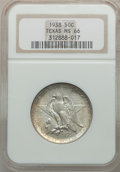 Commemorative Silver: , 1938 50C Texas MS66 NGC. NGC Census: (233/48). PCGS Population(201/43). Mintage: 3,780. Numismedia Wsl. Price for problem ...