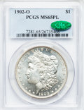 Morgan Dollars: , 1902-O $1 MS65 Prooflike PCGS. CAC. PCGS Population (92/11). NGCCensus: (130/13). Numismedia Wsl. Price for problem free ...