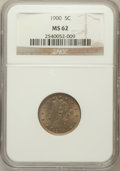 Liberty Nickels: , 1900 5C MS62 NGC. NGC Census: (58/650). PCGS Population (80/719).Mintage: 27,255,996. Numismedia Wsl. Price for problem fr...