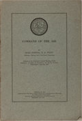 Books:Americana & American History, Robert A. Peary. Command of the Air. American Academy ofPolitical and Social Science, 1916. 8 pages. Publisher's wr...