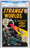 Silver Age (1956-1969):Science Fiction, Strange Worlds #2 (Marvel, 1959) CGC FN+ 6.5 Off-white to whitepages....