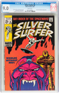Silver Age (1956-1969):Superhero, The Silver Surfer #6 (Marvel, 1969) CGC VF/NM 9.0 White pages....
