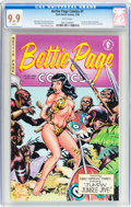 Modern Age (1980-Present):Miscellaneous, Bettie Page Comics #1 (Dark Horse, 1996) CGC MT 9.9 White pages....