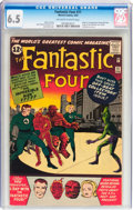 Silver Age (1956-1969):Superhero, Fantastic Four #11 (Marvel, 1963) CGC FN+ 6.5 Off-white to white pages....