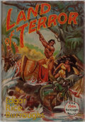 Books:Science Fiction & Fantasy, Edgar Rice Burroughs. Land of Terror. Edgar Rice Burroughs,1944. First edition, first printing. Mild bumping to...
