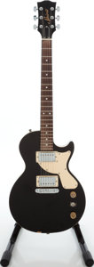 Musical Instruments:Electric Guitars, 2000s Gibson Baldwin Spirit Les Paul Black Solid Body ElectricGuitar....