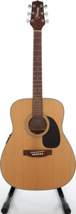 Musical Instruments:Acoustic Guitars, 2000 Takamine EG-240 Natural Acoustic Electric Guitar, Serial # 00623015. ...