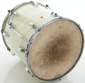 "Musical Instruments:Drums & Percussion, Circa 1965 Ludwig White Marine Pearl 16"" Floor Tom...."
