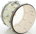 "Musical Instruments:Drums & Percussion, Circa 1965 Ludwig White Marine Pearl 22"" Kick Drum...."
