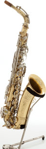 Musical Instruments:Horns & Wind Instruments, 1970s C.G. Conn Shooting Star Brass Alto Saxophone....