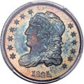 Bust Half Dimes, 1835 H10C Small Date, Small 5C MS67 PCGS. CAC. V-7, LM-10, R.1....