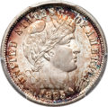 Barber Dimes, 1895-S 10C MS65 PCGS. CAC....
