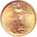Saint-Gaudens Double Eagles, 1913-S $20 MS64 NGC. CAC....