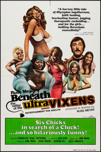 """Beneath the Valley of the Ultra-Vixens (RM Films, 1979). One Sheet (27"""" X 41""""). Sexploitation"""