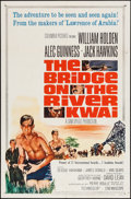 "Movie Posters:War, The Bridge on the River Kwai (Columbia, R-1963). One Sheet (27"" X41""). War.. ..."