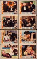 """Movie Posters:Drama, The Crusader (MGM, 1932). Lobby Card Set of 8 (11"""" X 14""""). Drama.. ... (Total: 8 Items)"""