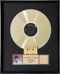 Music Memorabilia:Awards, Elvis Presley Spinout RIAA Gold Record Award (RCA 3702,1966). ...
