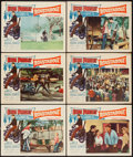 "Movie Posters:Elvis Presley, Roustabout (Paramount, 1964). Lobby Cards (6) (11"" X 14""). ElvisPresley.. ... (Total: 6 Items)"