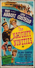 "Movie Posters:Comedy, The Naughty Nineties (Universal, 1945). Three Sheet (41"" X 78""). Comedy.. ..."
