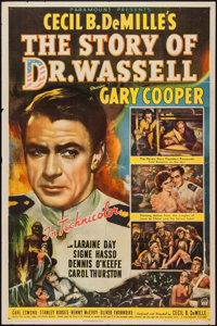 "The Story of Dr. Wassell (Paramount, 1944). One Sheet (27"" X 41""). War"
