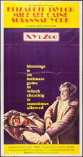 "Movie Posters:Drama, X, Y and Zee (Columbia, 1972). Three Sheet (41"" X 81""). Drama.. ..."