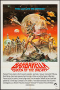 "Movie Posters:Science Fiction, Barbarella (Paramount, R-1977). One Sheet (27"" X 41""). ScienceFiction.. ..."