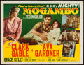 "Movie Posters:Adventure, Mogambo (MGM, 1953). Half Sheet (22"" X 28"") Style B. Adventure....."