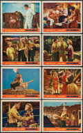 """Movie Posters:Adventure, South Sea Woman (Warner Brothers, 1953). Lobby Card Set of 8 (11"""" X 14""""). Adventure.. ... (Total: 8 Items)"""