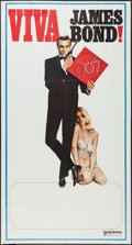 "Movie Posters:James Bond, Viva James Bond (United Artists, 1972). International Three Sheet (41"" X 76.5""). James Bond.. ..."