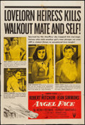 "Movie Posters:Film Noir, Angel Face (RKO, 1952). One Sheet (27"" X 40""). Film Noir.. ..."