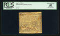 Colonial Notes:Pennsylvania, Pennsylvania April 3, 1772 2s PCGS Apparent Extremely Fine 40.. ...