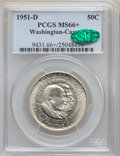 Commemorative Silver, 1951-D 50C Washington-Carver MS66+ PCGS. CAC....