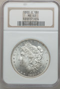Morgan Dollars: , 1880-O $1 MS63 NGC. NGC Census: (1863/1031). PCGS Population(2224/1222). Mintage: 5,305,000. Numismedia Wsl. Price for pro...