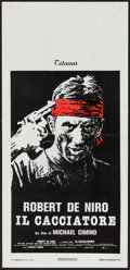 "Movie Posters:Drama, The Deer Hunter (Titanus, 1978). Italian Locandina (13"" X 27""). Drama.. ..."