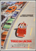 "Movie Posters:Comedy, Ferris Bueller's Day Off (Paramount, 1986). Spanish One Sheet (27"" X 38""). Comedy.. ..."
