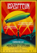 "Movie Posters:Rock and Roll, Led Zeppelin: Celebration Day (Omniverse Vision, 2012). Italian 2 -Foglio (38.5"" X 55""). Rock and Roll.. ..."