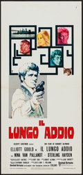 "Movie Posters:Crime, The Long Goodbye (United Artists, 1973). Italian Locandina (13"" X 27""). Crime.. ..."