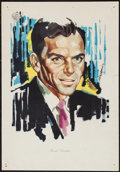 "Movie Posters:Crime, Frank Sinatra in Ocean's 11 (Warner Brothers, 1961). Italian Poster (13"" X 19""). Crime.. ..."