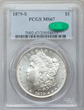 Morgan Dollars: , 1879-S $1 MS67 PCGS. CAC. PCGS Population (1257/82). NGC Census:(1952/141). Mintage: 9,110,000. Numismedia Wsl. Price for ...