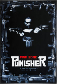 """Punisher: War Zone (Lions Gate, 2008). Lenticular One Sheet with Frame (27"""" X 40 and 38"""" X 50""""). Action..."""