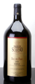 Italy, Barolo 2000 . Bric del Fiasc, P. Scavino . lbsl, owc.Double-Magnum (1). ... (Total: 1 D-Mag. )