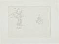 Animation Art:Production Drawing, Minnie Mouse Production Drawing Animation Art (Disney,undated)....